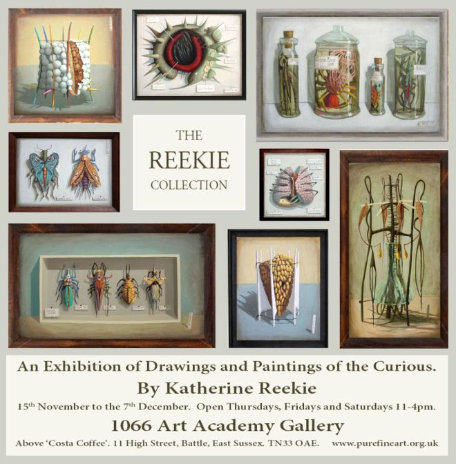 The Reekie Collection E flyer