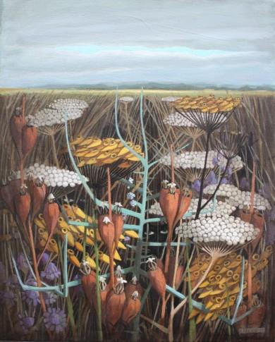 2013, Oil on canvas, 40cm x 50cm