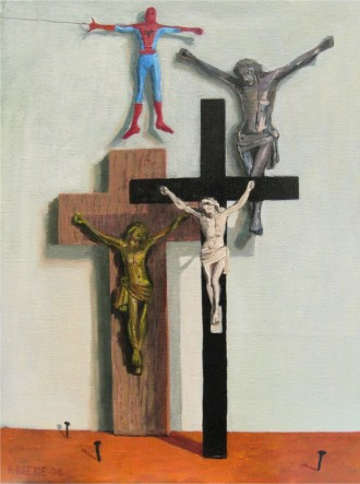 2006, Oil painting on canvas, 30cm x 40cm. Sold.