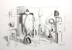 2013, Pencil on paper,70cm x 52cm