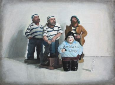2010, Oil on canvas, 40cm x 30cm