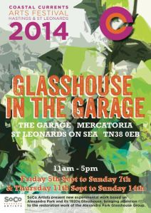 Glasshouse Exhibition poster