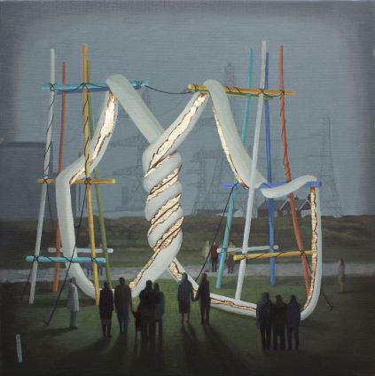 54cmx 54cm. Oil on canvas. 2106