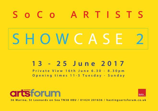 Show case flyer