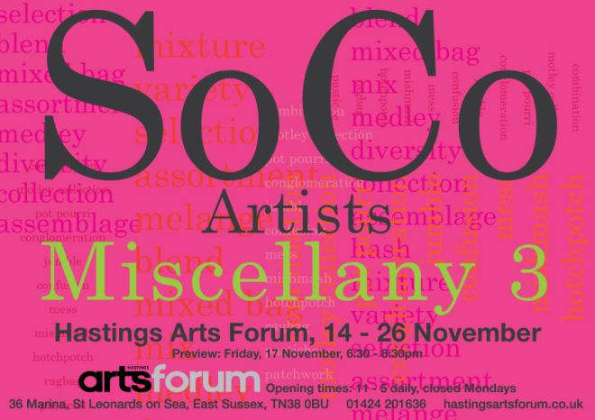 Miscellany 3 flyer